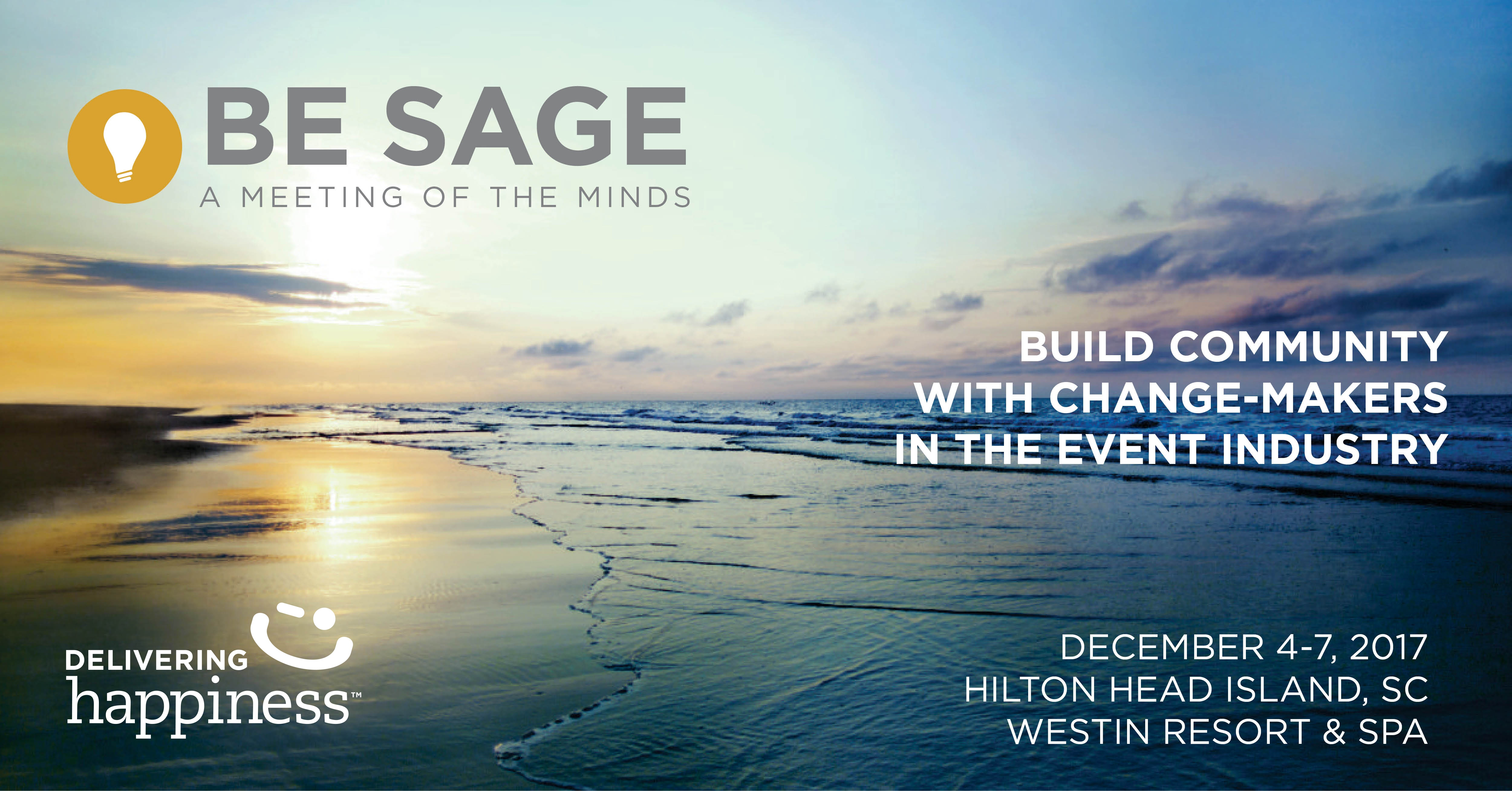 Happiness Keynote Banner - Be Sage Conference for Wedding Industry Professionals
