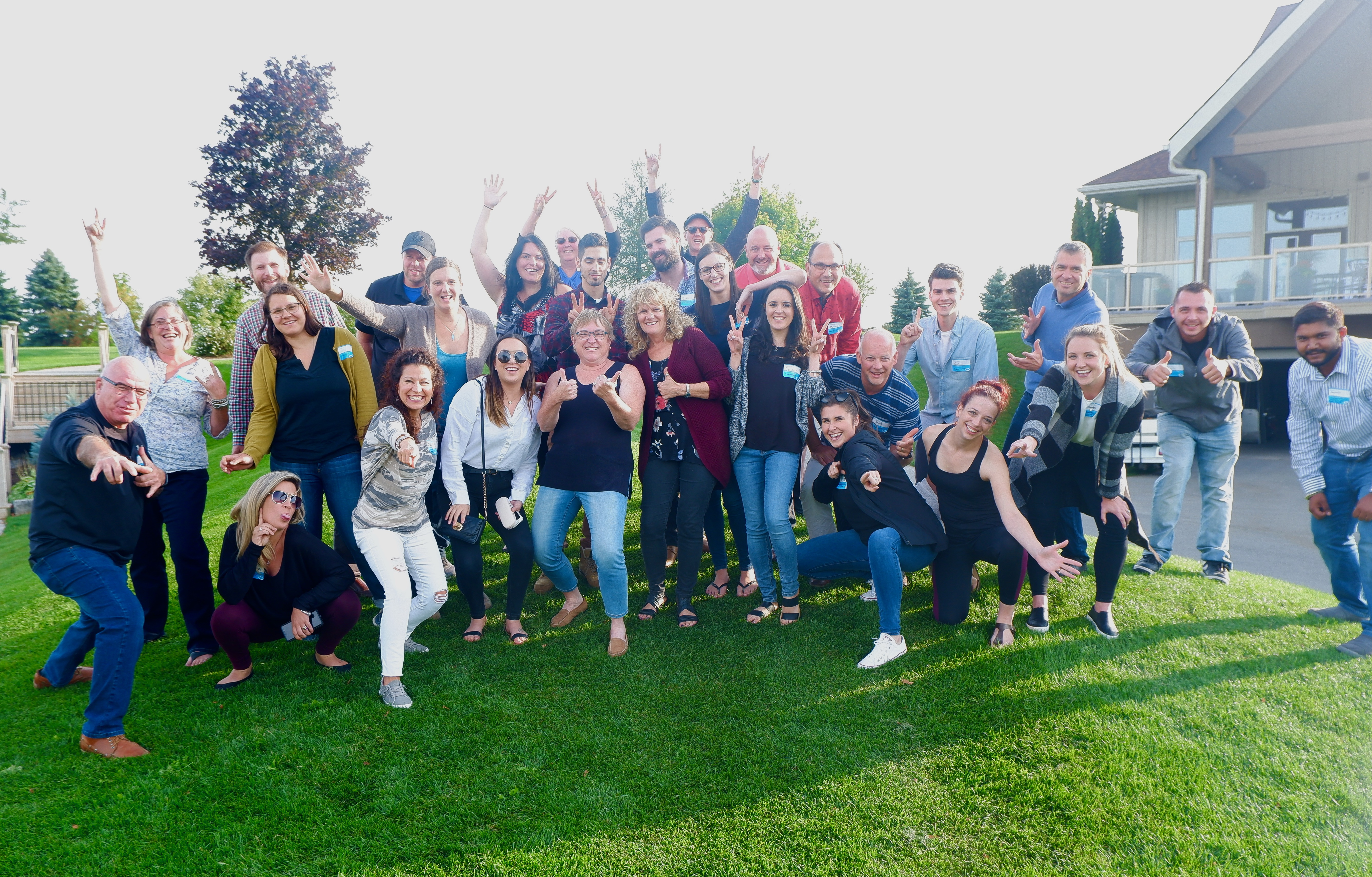 rock solid supply canada employee team masterclass delivering happiness