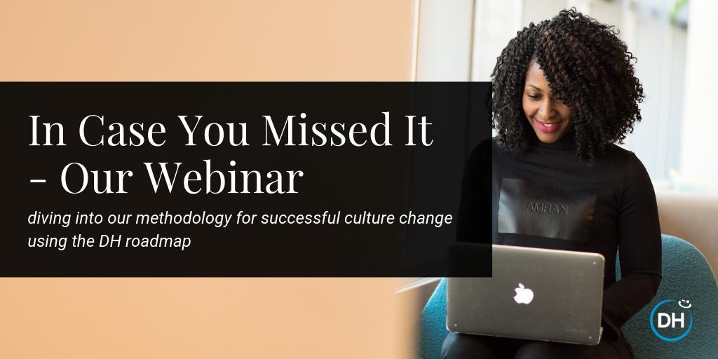 Delivering happiness culture change webinar recap