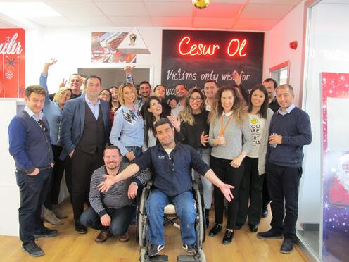 Canpa team company culture delivering happiness