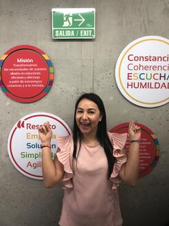 Contento Core Values Wall Colombia
