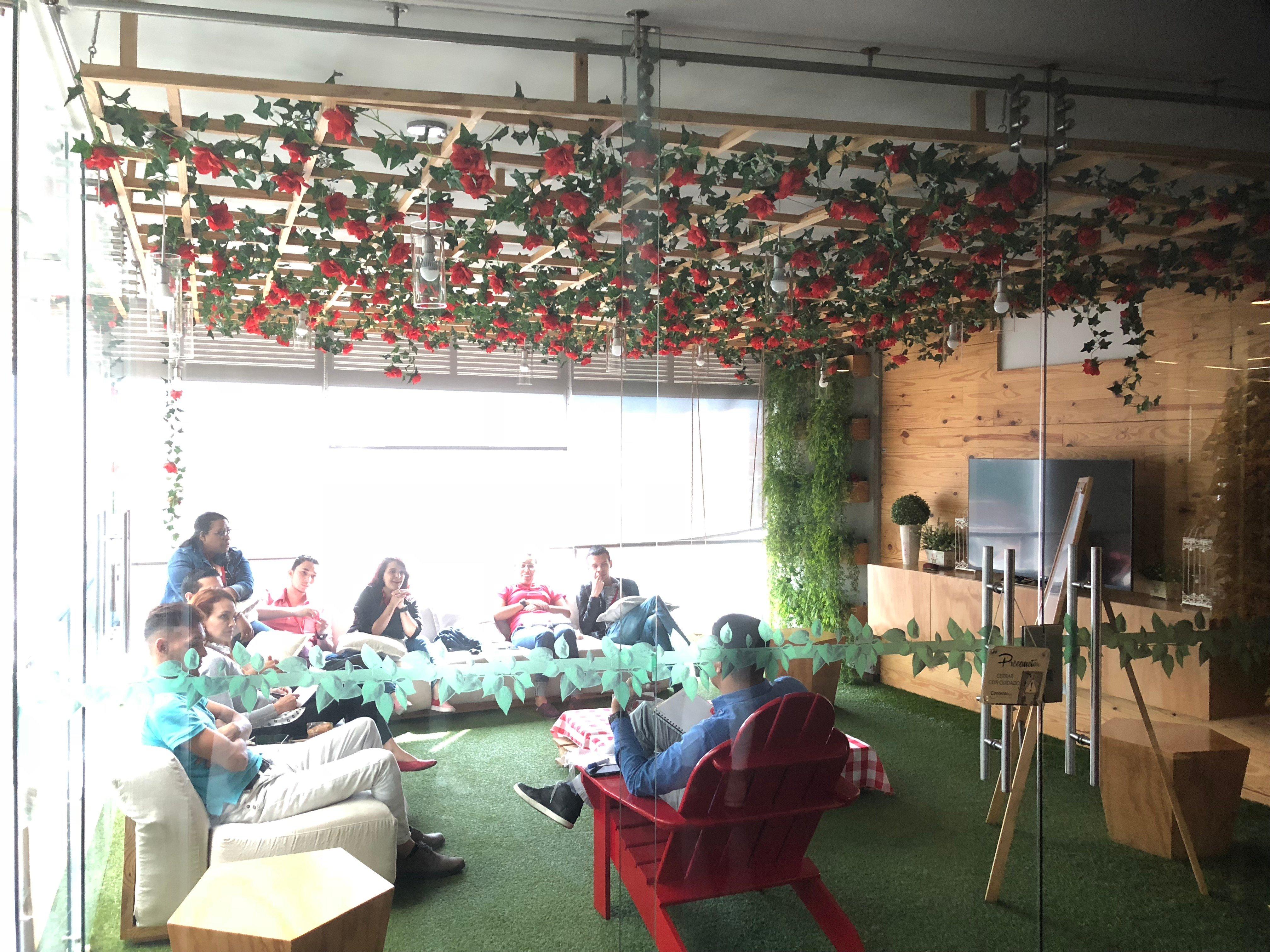 Contento Headquarters Break Room Colombia