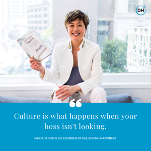 culture boss delivering happiness jenn quote