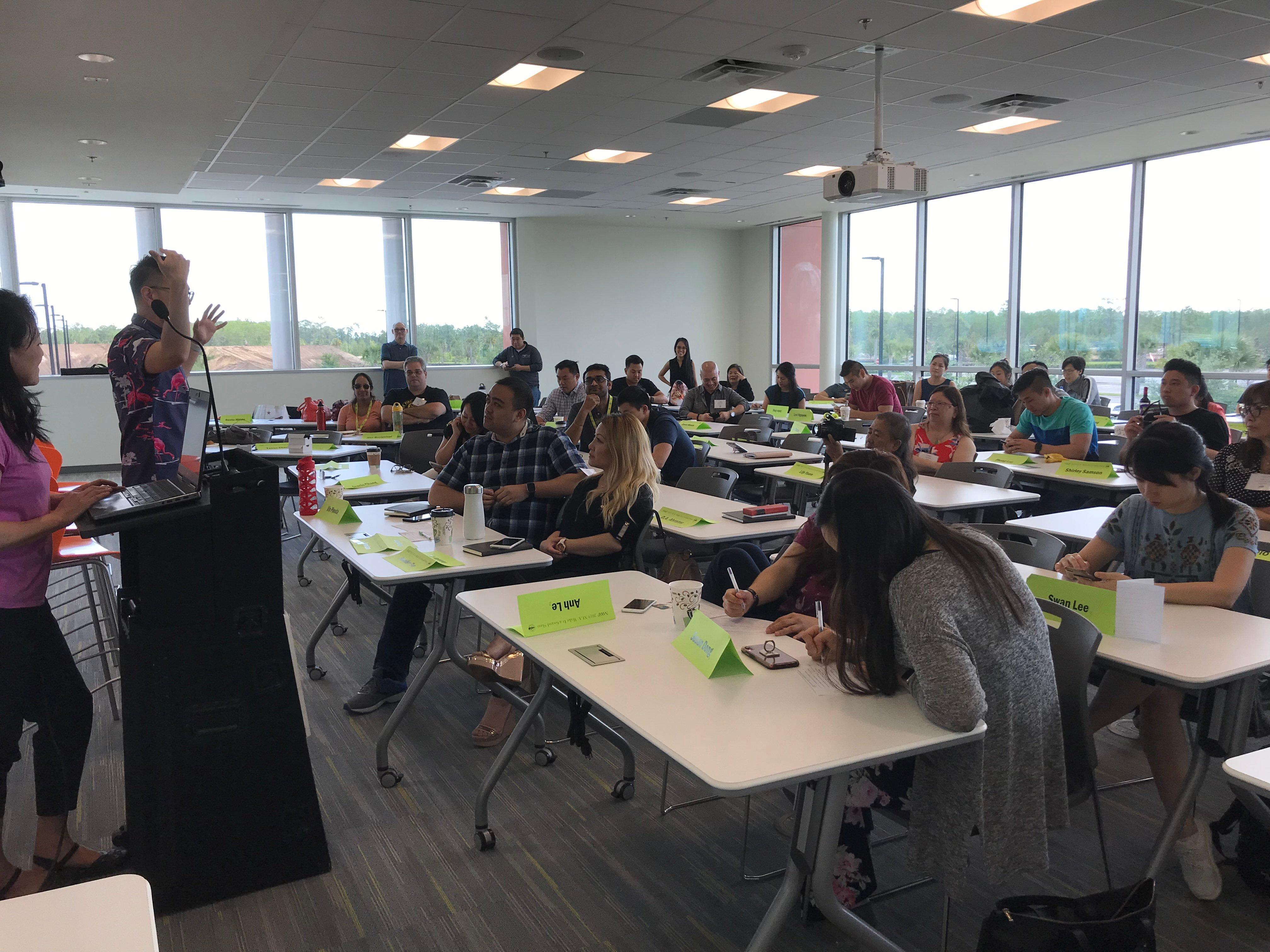 NAAAP Kelly Lei Leadership Academy 2019