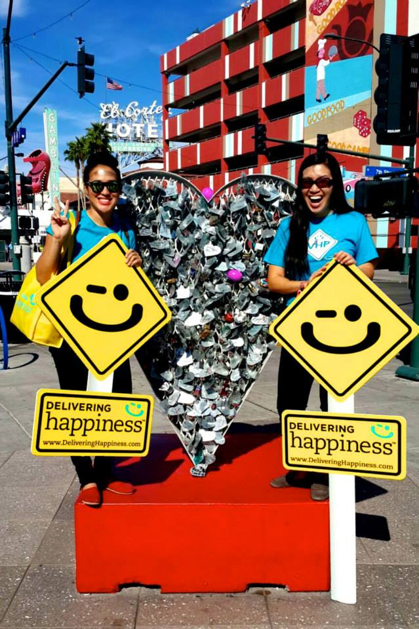 "RAH ""Random Act of Happiness"" #HappyHunt with C.Lai. at Life is Beautiful festival, Las Vegas"