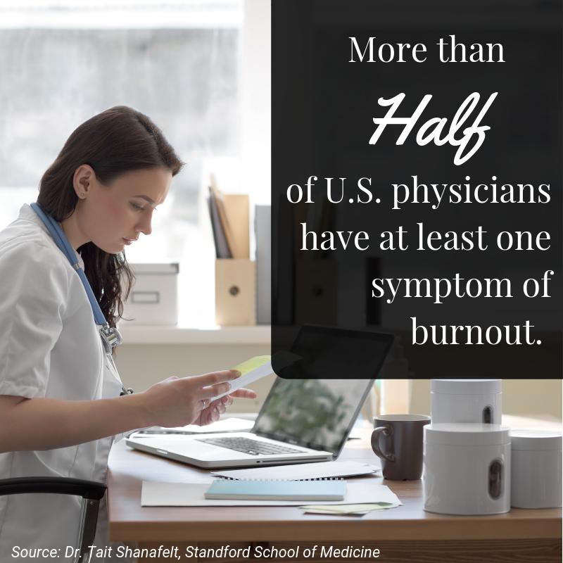 Physician doctor nurse burnout