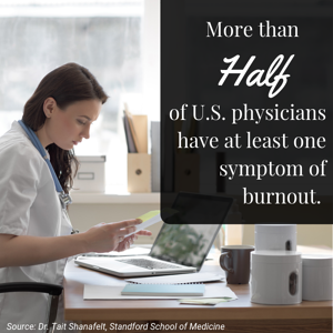 Physician doctor nurse burnout
