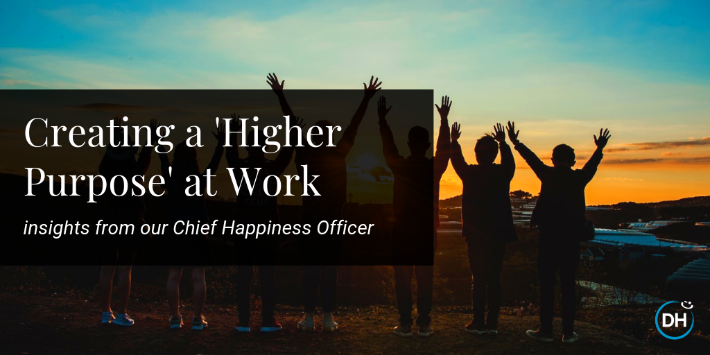 higher company startup purpose mission