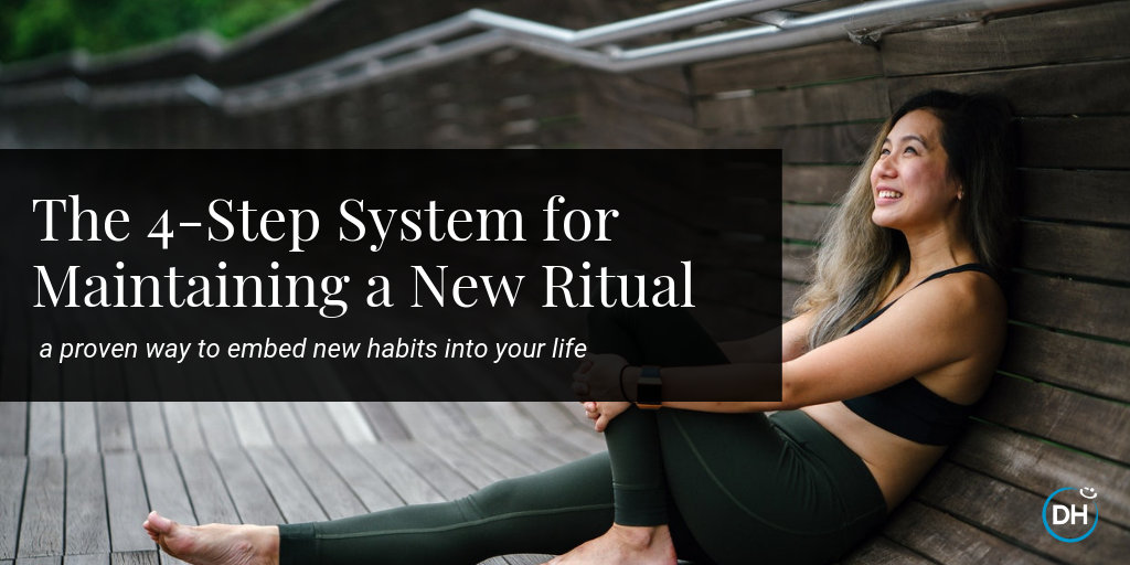 how to start and maintain new habit ritual thriving collective