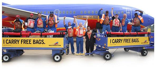 southwest bags fly free policy