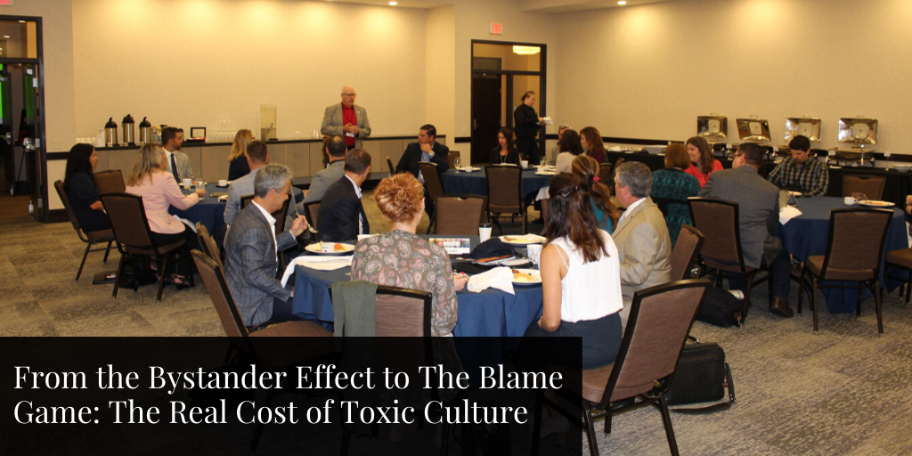 From the Bystander Effect to The Blame Game: The Real Cost of Toxic Culture