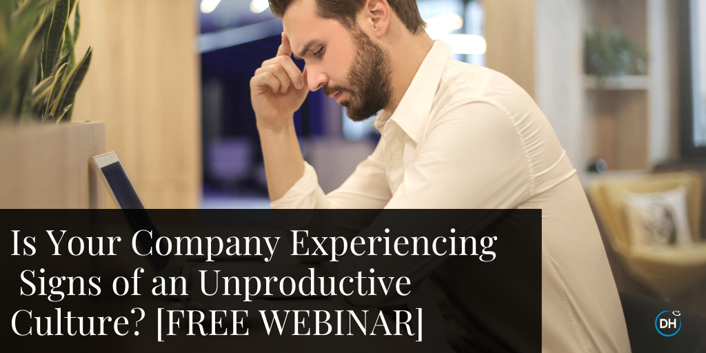 Is Your Company Experiencing Signs of an Unproductive Culture? Free Webinar with CEO Jenn Lim and Culture Chief Sunny Grosso.
