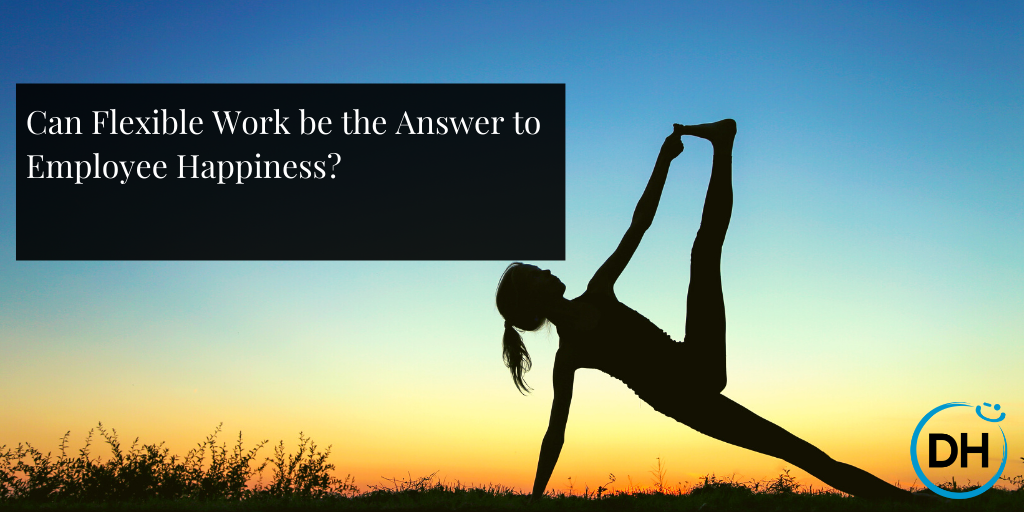 Flexible work for happiness
