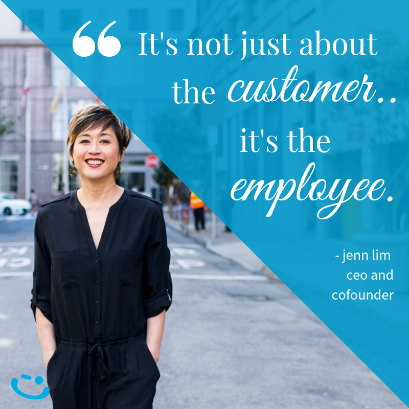 customer employee jenn lim happiness quote