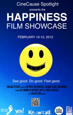 CineCause Poster for Happiness Spotlight