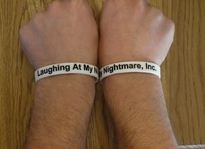 Laughing At My Nightmare bracelets