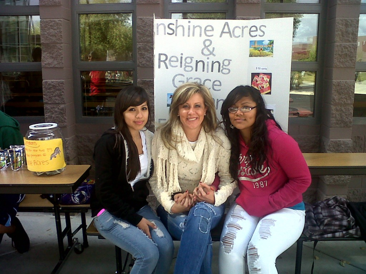 Kelly, Elaine, and Diana