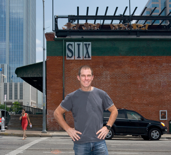 John Korioth, owner of SIX in Austin, TX