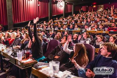 alamo drafthouse audience movie culture