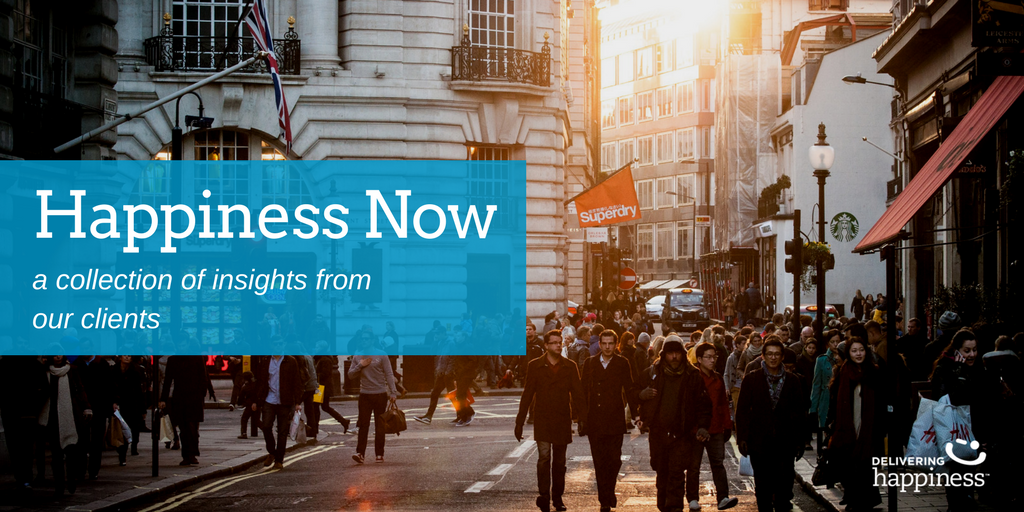 Happiness Now | Client Insights from Workshops, Keynotes, and more!