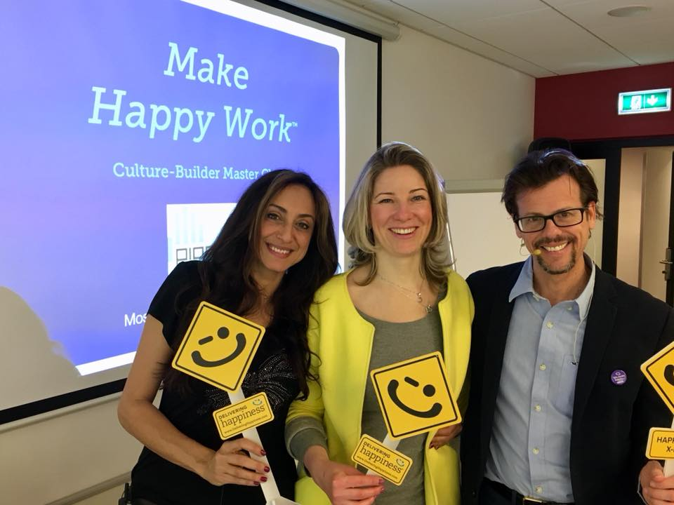 Culture coachsultants delivering happiness workshop