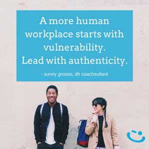 delivering happiness authenticity leadership sunny grossoquote