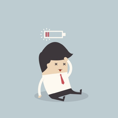 Employee burnout drain