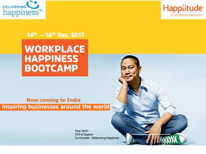 Delivering Happiness+Happiitude: Join us in Mumbai this December