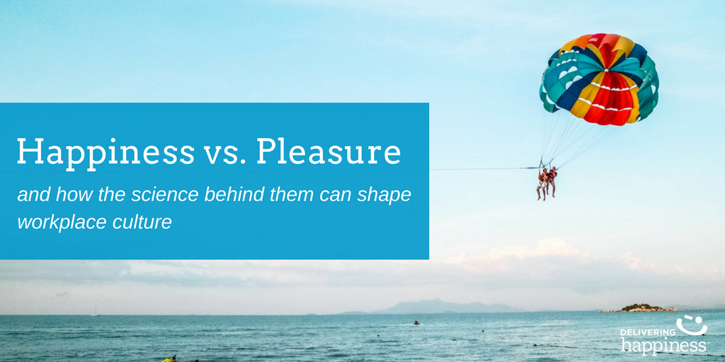 The Difference Between Happiness vs. Pleasure and Why it Matters at Work